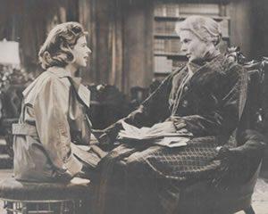 Helena with Ingrid Bergman
